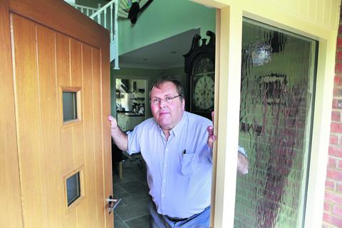 Entrepreneur Phil Barclay has had to use his home as security to fund his business plans