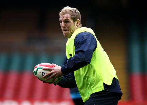 James Haskell, picked for England's squad this week, is playing for London Wasps against London Welsh tomorrow
