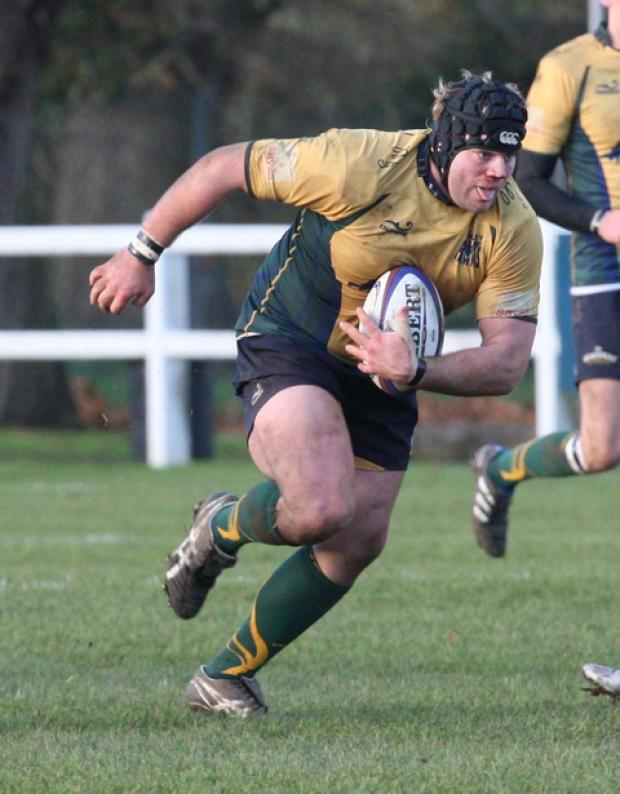 Alex Penny scored two tries for Henley