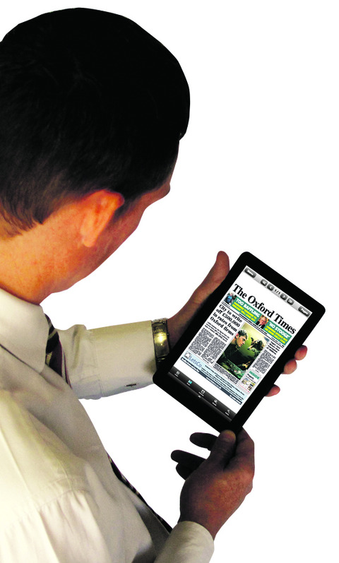 The Oxford Times is now available on the Kindle Fire