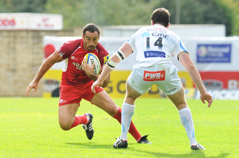 Sonny Parker (left) is back for London Welsh when they face Exeter Chiefs in the LV Cup tomorrow