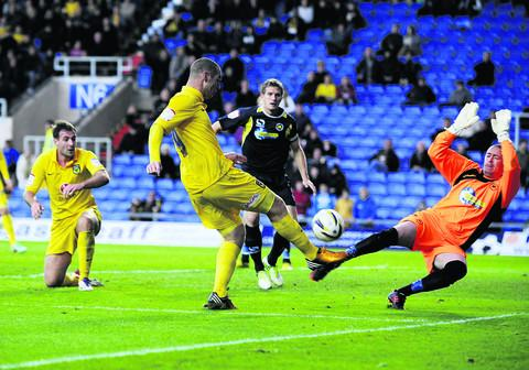 The Oxford Times: Torquay goalkeeper Martin Rice does enough to stop Oxford striker James Constable finding the net in the 0-0 draw at the Kassam Stadium on Saturday