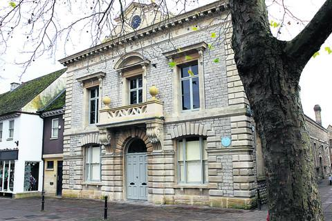 The Oxford Times: The Corn Exchange in Witney