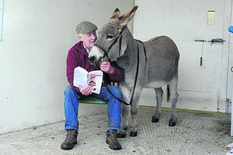 Little donkey's story repays her saviours
