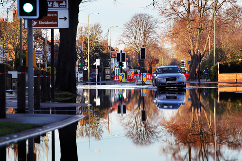 Abingdon Rd flooding