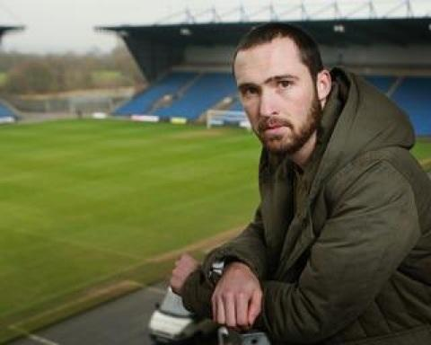 Mitchell Cole at the Kassam when he retired