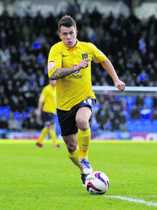 Lee Cox will not be returning to Oxford United