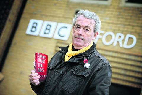 Robin Aitken has been asked to rewrite his book, Can We Trust the BBC? Picture: OX56471 Damian Halliwell