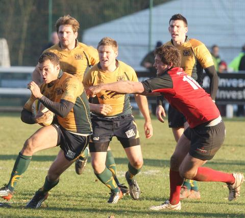 Xavier Andre scored four tries for Henley Hawks against Southend