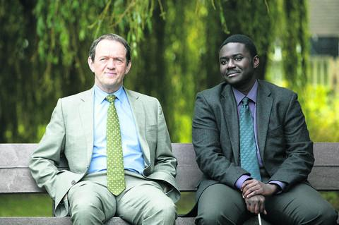 Lewis star Kevin Whately with Babou Ceesay as DC Alex Gray
