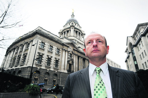 Senior Investigating Officer Simon Morton outside the Old Bailey in London