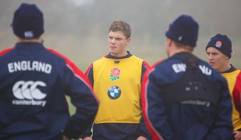 Henry Purdy trains with England Under 20s picture: Tania Richards
