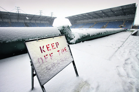 The Kassam Stadium pitch