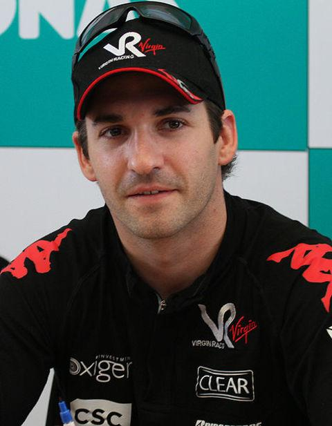 On the move: Timo Glock