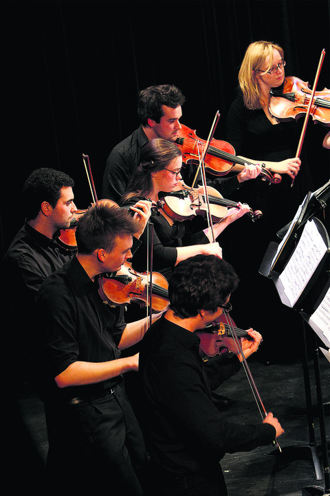 Graduates strike a chord with concert
