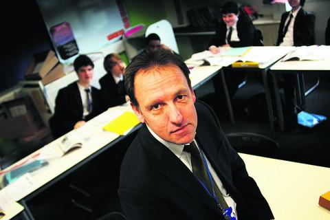 Oxford Academy executive headteacher David Brown