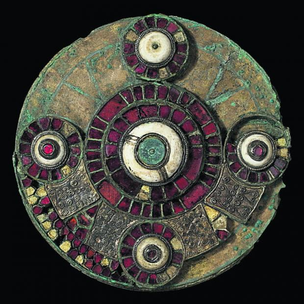 The Anglo-Saxon brooch
