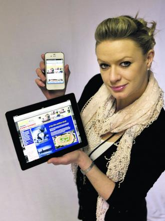 MOBILE: Websites need to shrink says Vicky Harding-Saunders and Newsquest can help
