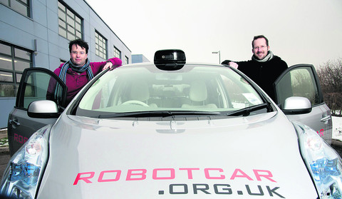 Boffins develop real Knight Rider car