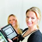 Jenny Ryan and Victoria Harding-Saunders of Newsquest Oxfordshire's digital media team
