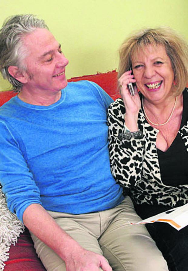 Martin and Clare Parrack received a phone call from David Cameron. Picture: OX57533 Steve Wheeler