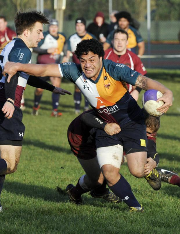 The Oxford Times: Pita Halatokoua scored on his last game for Oxford Harlequins