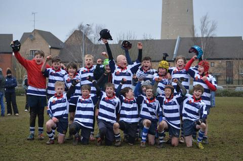 Banbury Under 12s, who won the Land Rover Premiership Cup