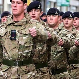 A report by three senior retired commanders has described the current level of spending on the armed forces as 'incoherent'