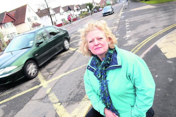 "County councillor Roz Smith says London Road in Headington is an ""embarrassing"" state. Picture: OX58169 Marc West"