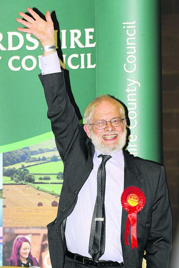 The Oxford Times: county councillor ofr Didcot West Nick Hards