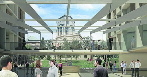 The Oxford Times: Oxford University reconsiders library plan for Radcliffe Infirmary site
