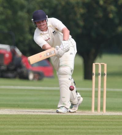 Curtly Slatter scored 55 off 37 balls for Shipton