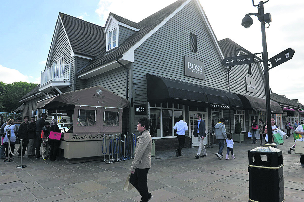 The expansion of Bicester Village depends on Tesco's plans