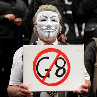 Anti-G8 protesters are expected in Belfast