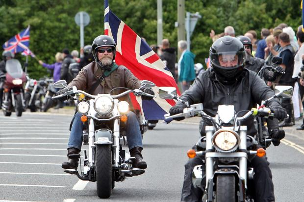 The Oxford Times: RBL Ride Of Respect on sunday Morning