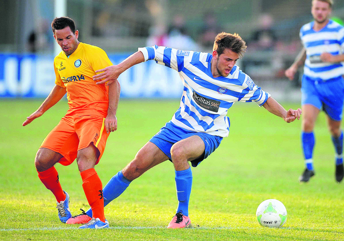 Banbury United striker Albi Skendi has been given an ultimatum bu manager Edwin Stein