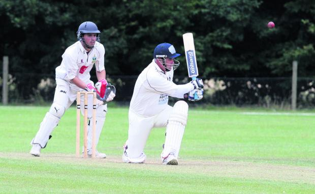 The Oxford Times: Neil Megson hit an unbeaten 50 for Oxfordshire