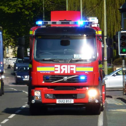 11-year-old calls fire service after spotting smoke from neighbour's house