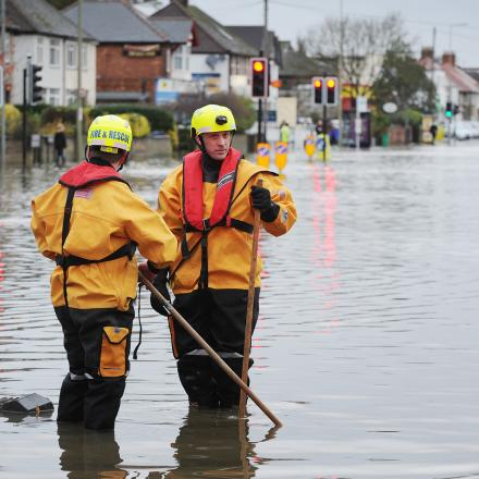 Flood warnings remain as water levels subside