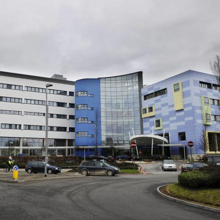 All four people were taken to John Radcliffe Hospital