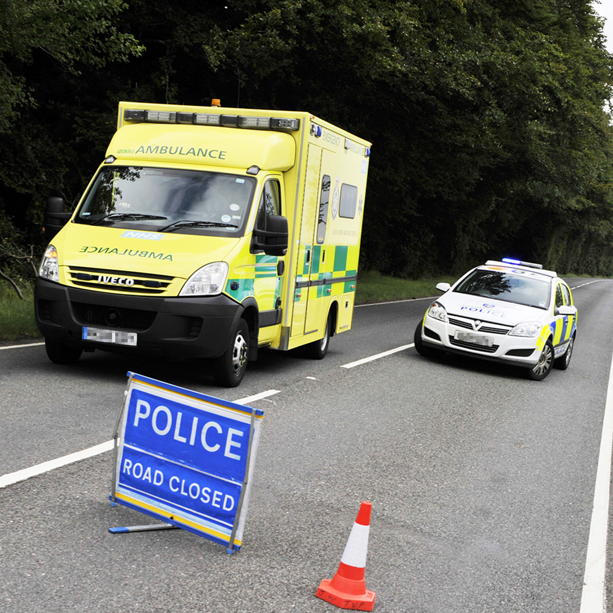 Collision closes A34