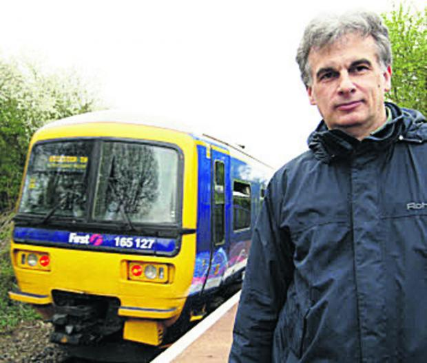 Dr Ian East of the Oxford-Bicester Rail Group