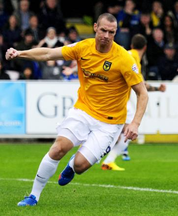 James Constable has been Oxford United's top scorer for the last six seasons