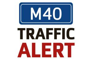 Delays on M40 near Bicester after vehicle fire