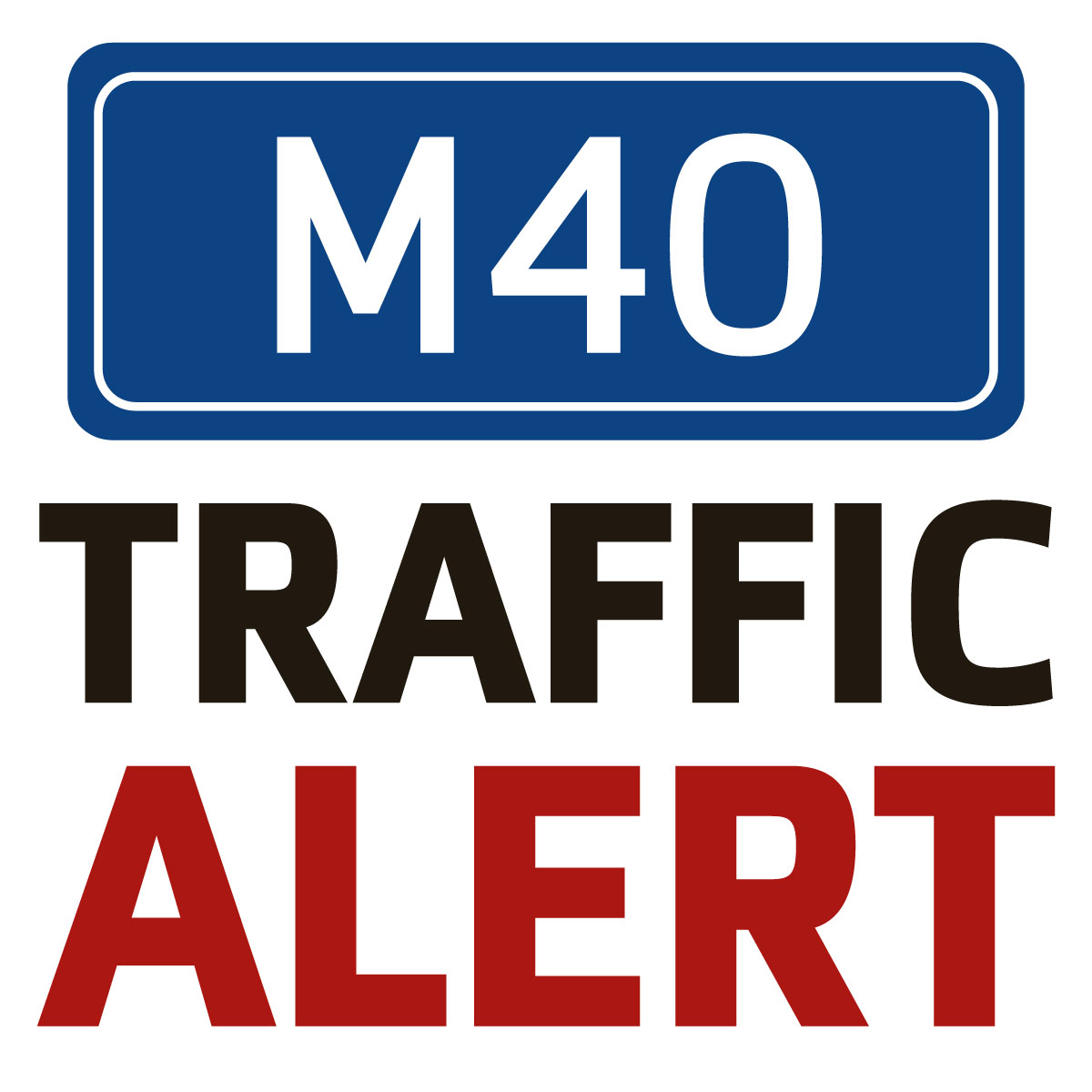 Crash on M40 causes delays