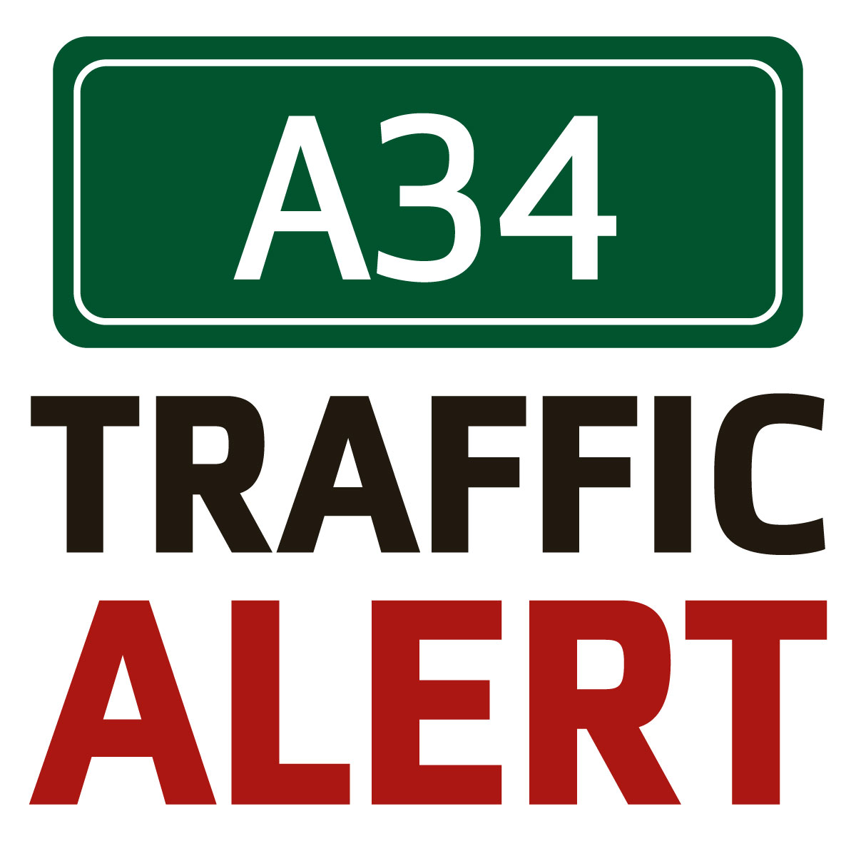 Delays on A34 following accident at East Ilsley