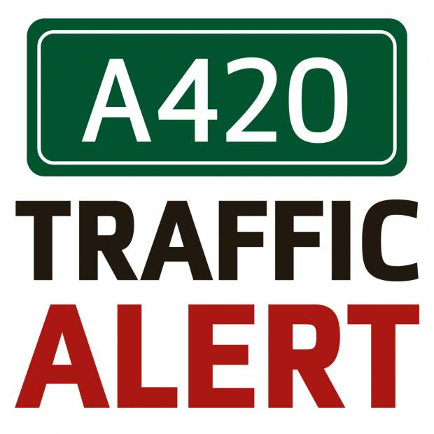 The Oxford Times: Delays on the A420 due to broken-down lorry
