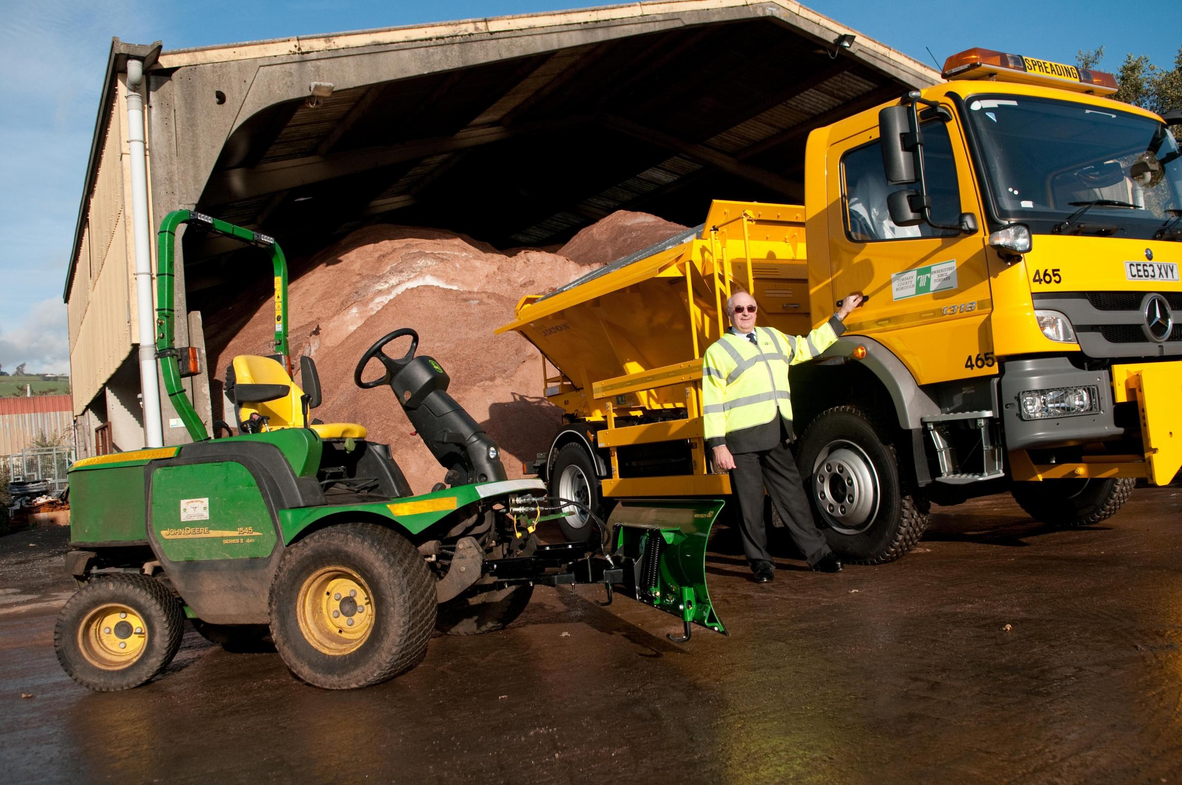 Gritters will be out on the roads