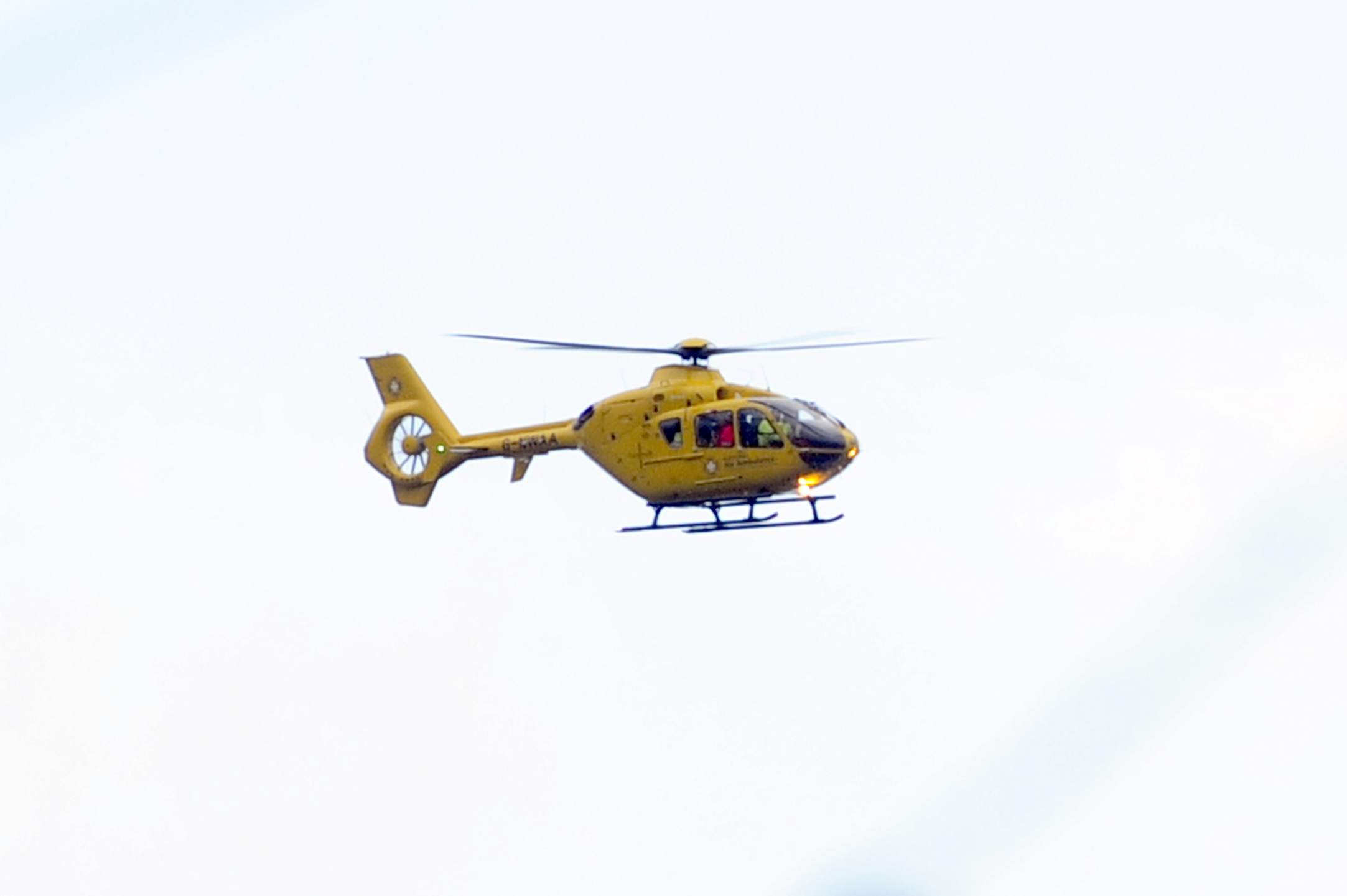 County's air ambulance is safe to fly after fuel problem fixed
