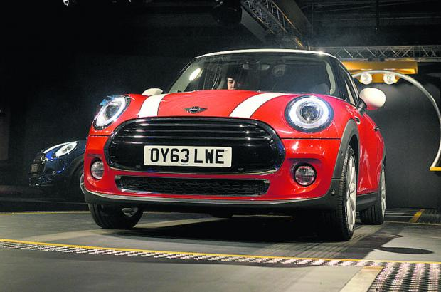 The launch of the new Mini at Cowley